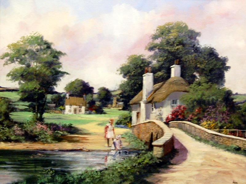 Summer Interlude - Painting by Alan King