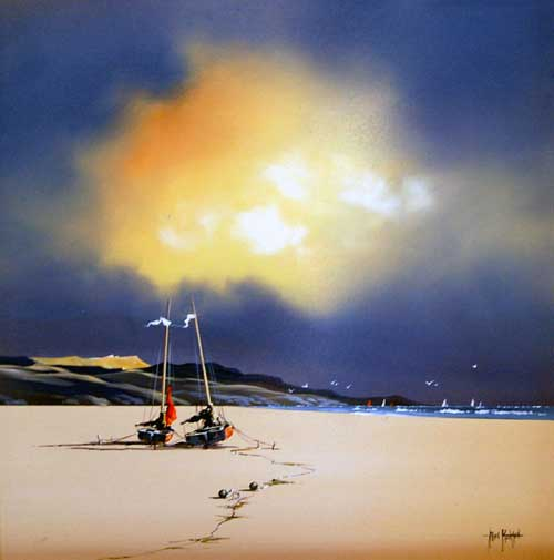 A New Dawn - painting by Allan Morgan