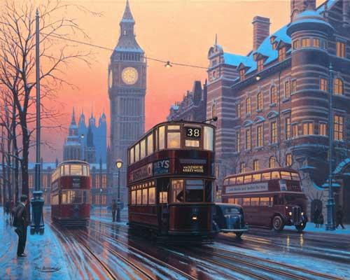Eric Bottomley English Artist Specialising In Railways Roadways