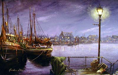 Gordon Lees - Harbour Lights