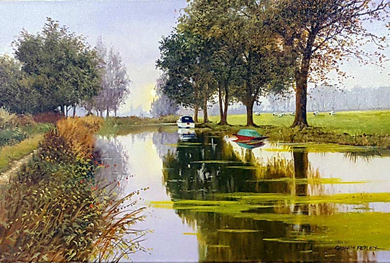 Halcyon Days - Painting by Graham Petley