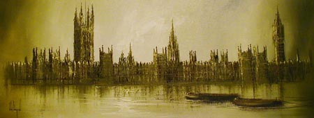 JB012 - Houses of Parliament - by John Bampfield