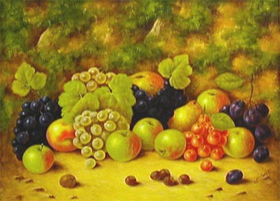 Still Life - Painting by John Smith