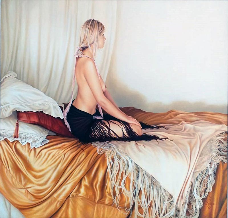 Hannah - Painting by Kay Boyce
