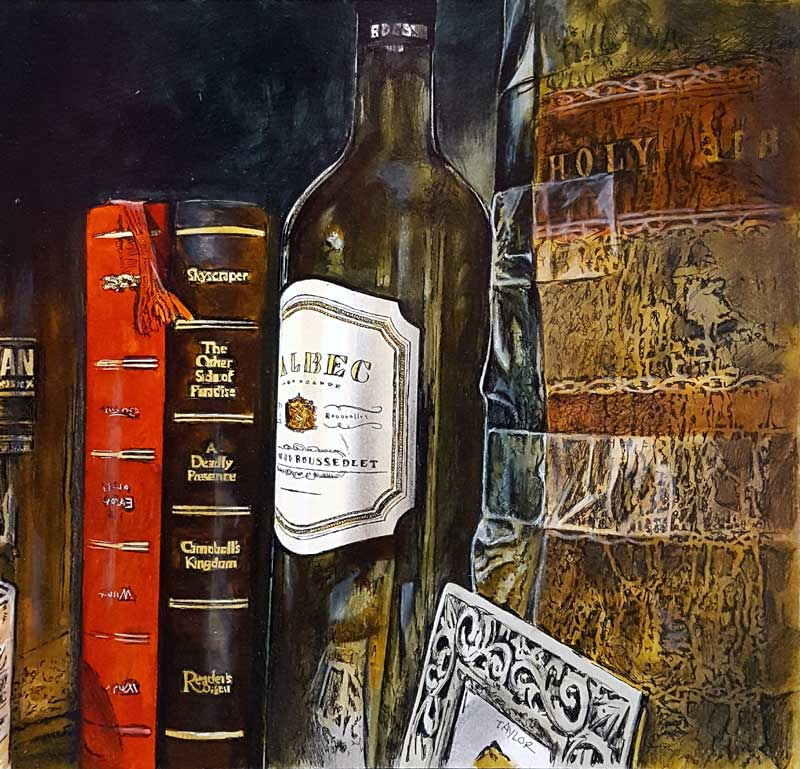 Mellow Chapters - Painting by Martin Taylor