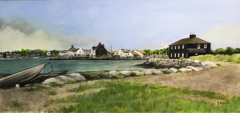 Mudeford Quay - Painting by Martin Taylor