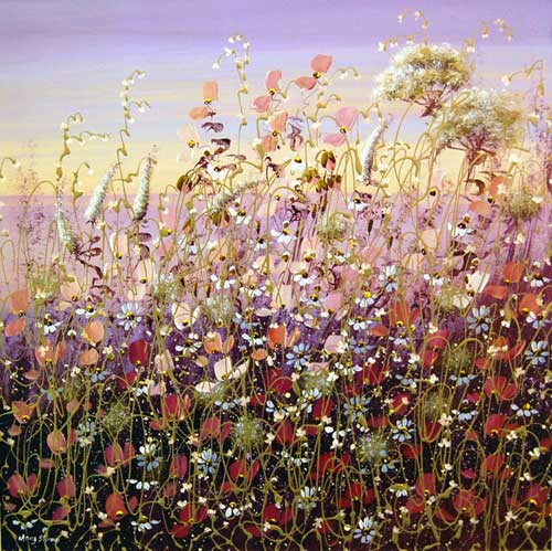 Summer's Wane - Painting by Mary Shaw