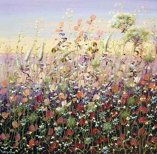 Summer's Dawn - Painting by Mary Shaw