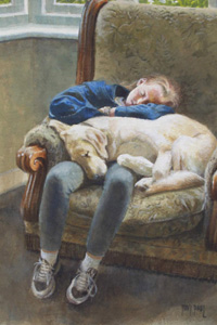 Siesta - Painting by Tony Paul
